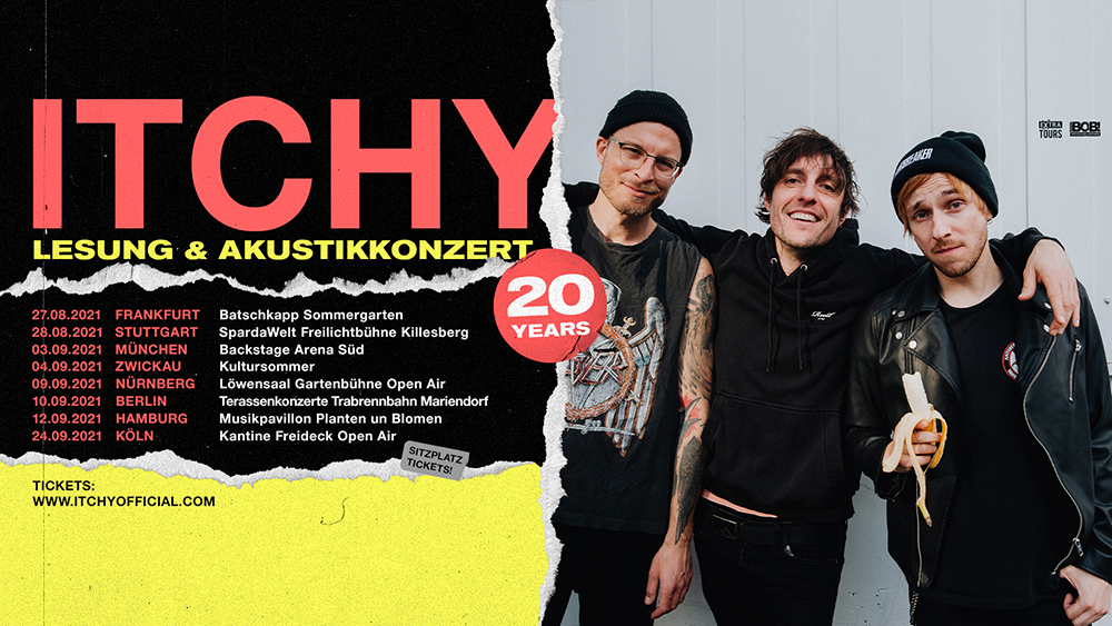 ITCHY - 20years Lesereise Tour