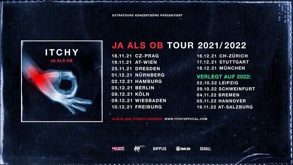 Itchy - Tour 2021/2022